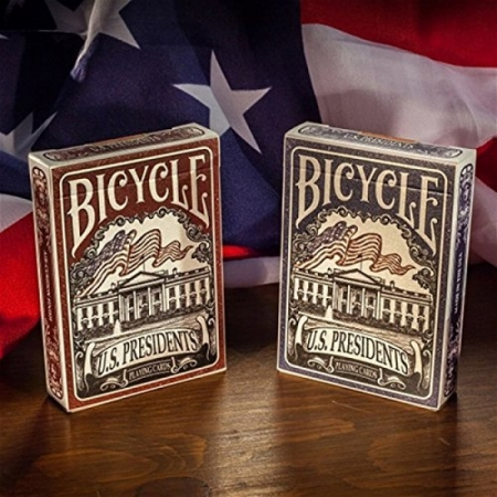 "Bicycle ""US Presidents"" Blau"