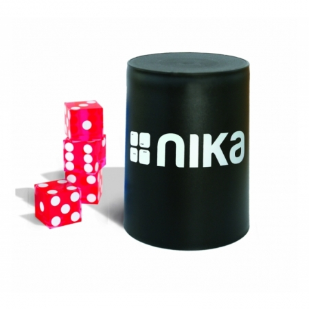 nika Dice Stacking Basic Set Rot